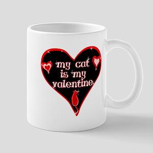 Valentine cat Mug