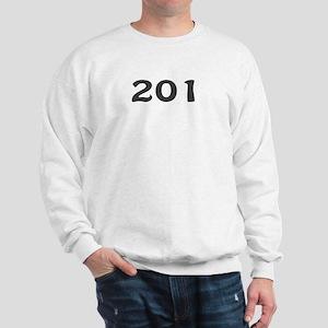 201 Area Code Sweatshirt