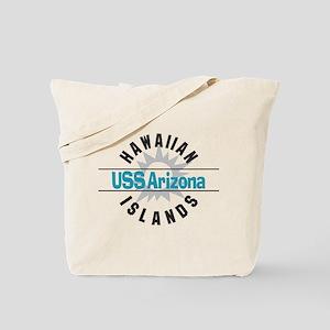 USS Arizona Hawaii Tote Bag