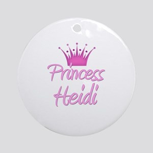 Princess Heidi Ornament (Round)