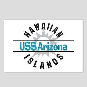 USS Arizona Hawaii Postcards (Package of 8)