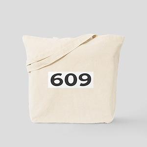 609 Area Code Tote Bag