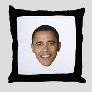 Obama Picture Throw Pillow