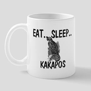 Eat ... Sleep ... KAKAPOS Mug