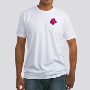 Beautiful Red AV Cutout Fitted T-Shirt