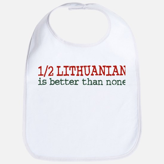 Half Lithuanian Bib