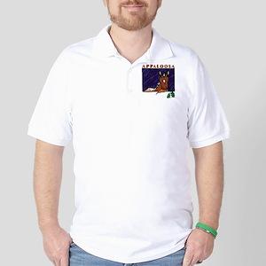 Appaloosa Horse Golf Shirt