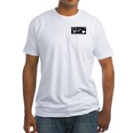 Two-sided Hawaii Style DLWEAR Logo Fitted T