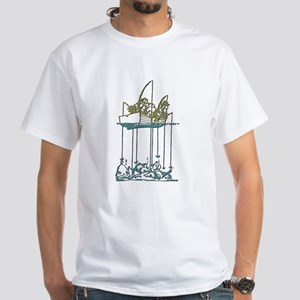 Fishing Humor White T-Shirt