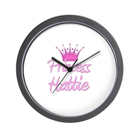 Princess Hattie Wall Clock