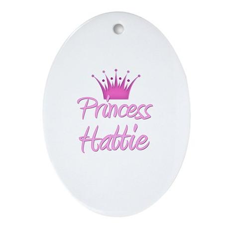 Princess Hattie Oval Ornament