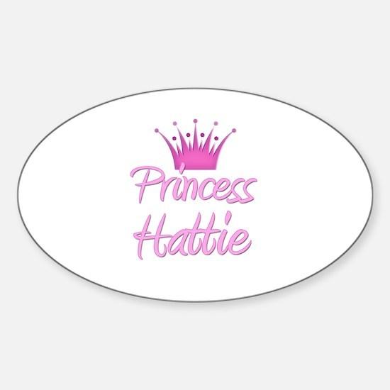 Princess Hattie Oval Decal