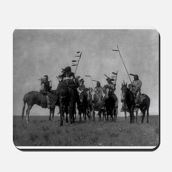 Atsina Warriors (Gros Ventre) Mousepad