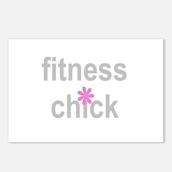 Fitness Chick Postcards (Package of 8)
