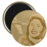 Maggie Gee International Airport Magnets