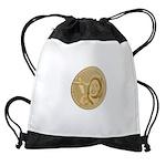 Maggie Gee International Airport Drawstring Bag
