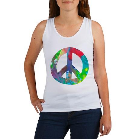 Peace Sign Women's Tank Top