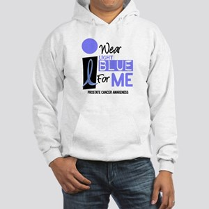 I Wear Light Blue For Me 9 Hooded Sweatshirt