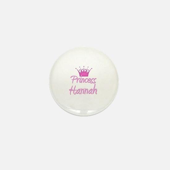 Princess Hannah Mini Button