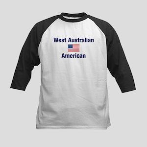 West Australian American Kids Baseball Jersey