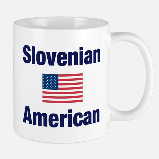 Slovenian American Mug