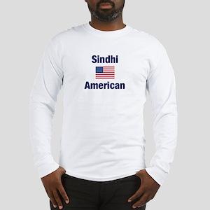 Sindhi American Long Sleeve T-Shirt