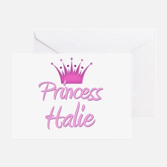 Princess Halie Greeting Card
