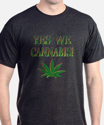 Yes We Cannabis Marijuana T-Shirt