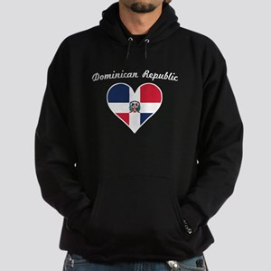 Dominican Republic Flag Heart Sweatshirt