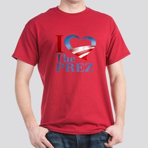 I Heart The Prez Dark T-Shirt