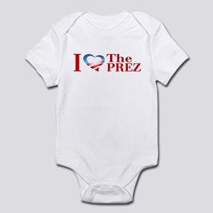 I Heart The Prez Infant Bodysuit
