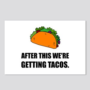 After This Getting Tacos Postcards (Package of 8)