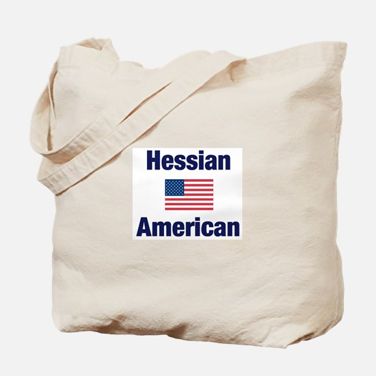 Hessian American Tote Bag