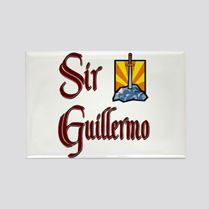 Sir Guillermo Rectangle Magnet