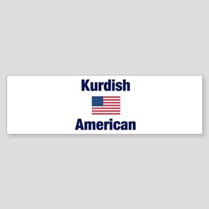 Kurdish American Bumper Sticker