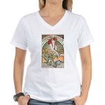 Chansons D'Aieules Women's V-Neck T-Shirt