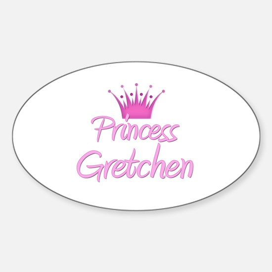 Princess Gretchen Oval Decal