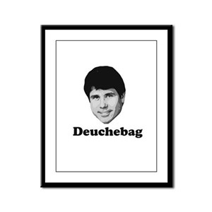 Deuchebag Framed Panel Print