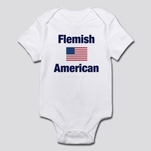 Flemish American Infant Bodysuit