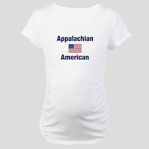 Appalachian American Maternity T-Shirt