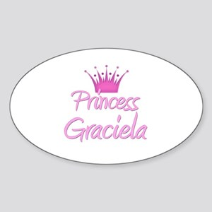 Princess Graciela Oval Sticker