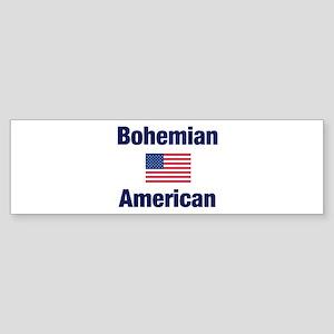 Bohemian American Bumper Sticker