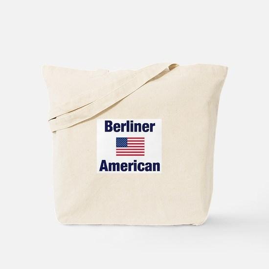 Berliner American Tote Bag