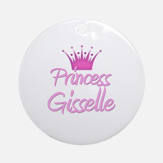 Princess Gisselle Ornament (Round)