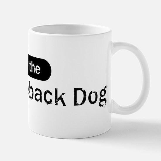 Obey the Thai Ridgeback Dog Mug