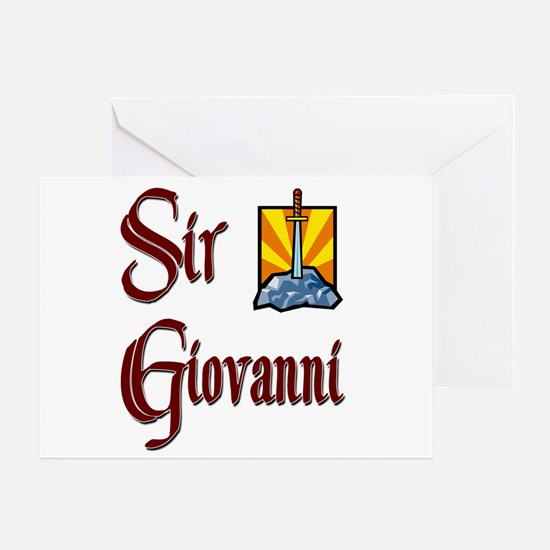 Sir Giovanni Greeting Card