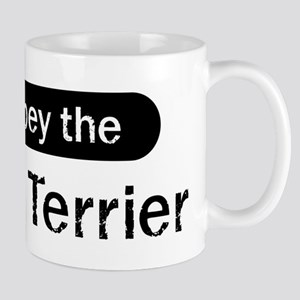 Obey the Rat Terrier Mug