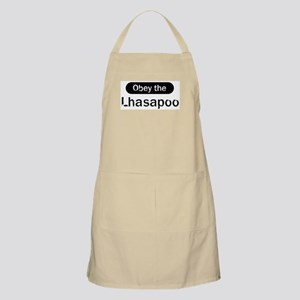 Obey the Lhasapoo BBQ Apron