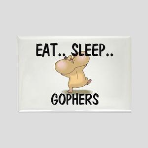 Eat ... Sleep ... GOPHERS Rectangle Magnet