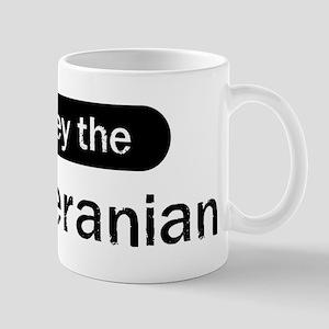 Obey the Pomeranian Mug